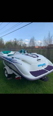 Photo Seadoo challenger boat - $2,500 (Elkhart)