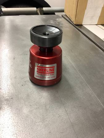 Photo Sherline Trailer tongue weight measuring system - $80 (Middlebury)