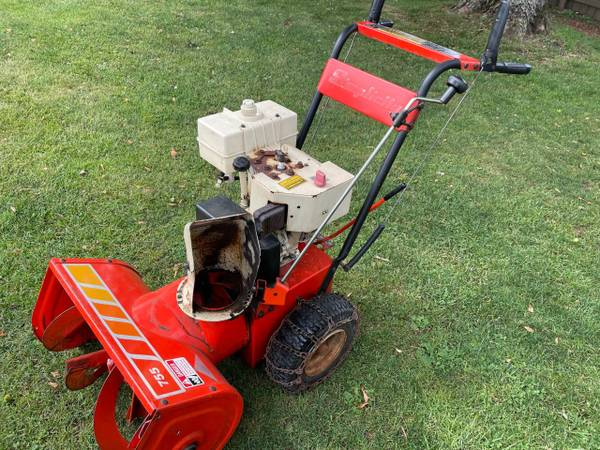 Photo Simplicity 755 Snow Blower - Good Condition - $125 (Rolling Prairie)