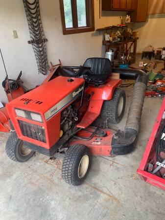 Photo Simplicity garden tractor - $1,450 (Lydic)