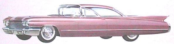 Photo Want to BUY CADILLAC 1959 1960 CADDY 59 60 - $1,500 (IN)