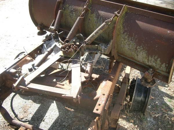 Photo Western snow plow - $150 (NW Indiana)