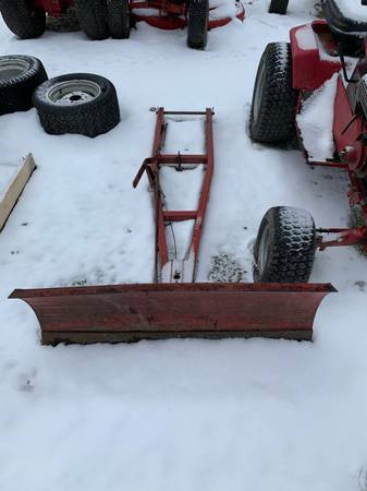 Photo Wheel Horse Long Frame Snow Plow 42 wide - $125 (Plymouth)