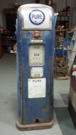 Photo vintage gas pump wanted (Goshen, IN)