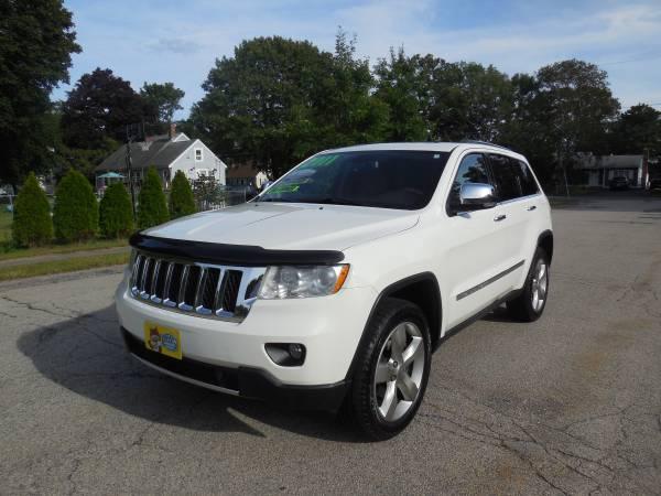 Photo 11 jeep overland white tan leather - $11995 (west bridgewater)