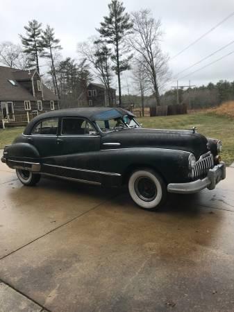Photo 1946 Buick Super 8 - $4200 (Middleborough)
