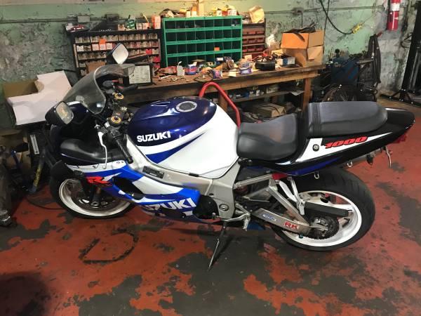 Photo 2001 Suzuki GSXR 1000 - $3,995 (Dighton ma)