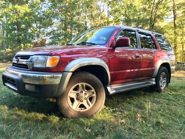 Photo 2001 Toyota 4Runner 4x4 - $2,500 (Wareham, MA)