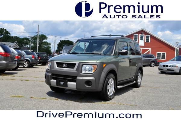 Photo 2003 Honda Element EX All-Wheel-Drive - $4995 (Fall River  Tiverton)