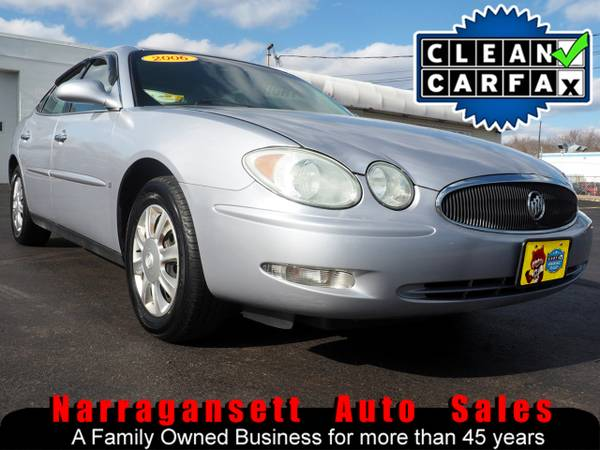 Photo 2006 Buick LaCrosse V-6 Auto Air Full Power Only 84K Super Clean - $4995 (Narragansett-Auto-Sales.com)