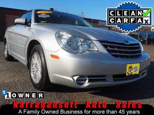 Photo 2008 Chrysler Sebring Convertible V-6 Auto Air Full Power 1-Owner - $4995 (Narragansett-Auto-Sales.com)