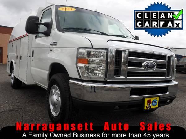 Photo 2011 Ford E-350 Utility Body V-8 Auto Air Full Power - $10995 (Narragansett-Auto-Sales.com)