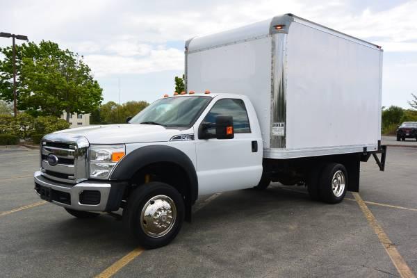 Photo 2013 Ford F450 Box Truck - $23,900 (New Bedford)