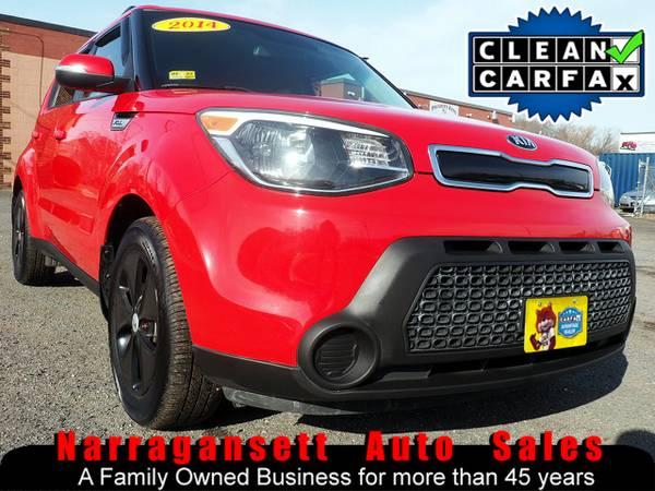 Photo 2014 Kia Soul Sport Auto Air Full Power Red Super Sharp - $7995 (Narragansett-Auto-Sales.com)