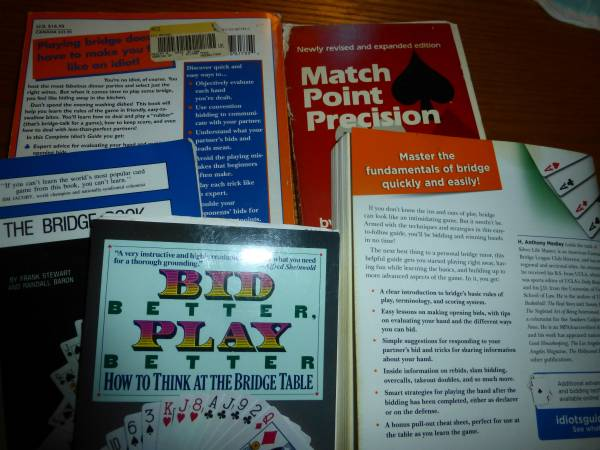 Photo BRIDGE, yes, the card game - $14 (Falmouth)
