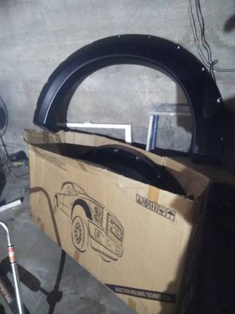 Photo Brand New fender flares for 2004-2008 Ford F-150 in the box never used - $100 (Swansea)