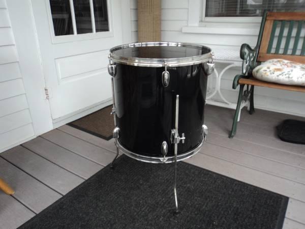 Photo Drum-Floor Tom 16quot Clean  Complete - $25 (Warren RI)
