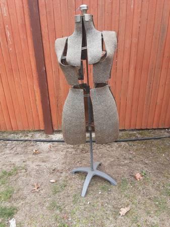 Photo Female Mannequin Torso Stand - $65 (Westport,ma)