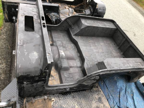 Photo Jeep CJ5 STEEL BODY tub OEM 76 - 83 from AZ NO RUST Frames and more - $1800