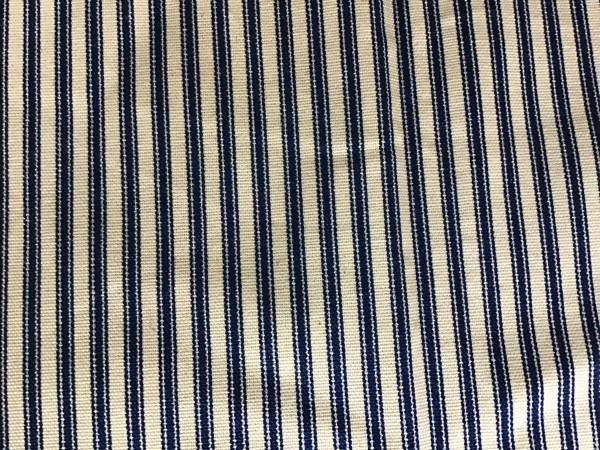 Photo NEW BLUE AND WHITE STRIPE TICKING MATERIAL - $10 (NORTH ATTLEBORO)
