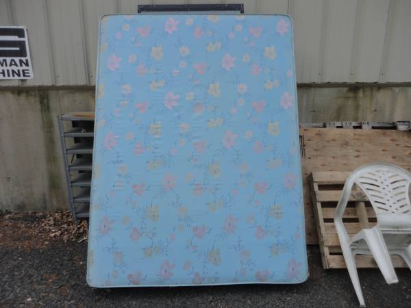 Photo Queen Size Mattress and Box Spring - $20 (Middleboro)