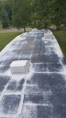 Photo Rv and cer roof RECOATING and maintenance - $850 (RI. MA. CT. PARTS OF MAINE)