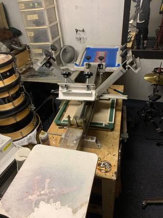 Photo SCREEN PRINTER (4-color) - $1,300 (Fairhaven)
