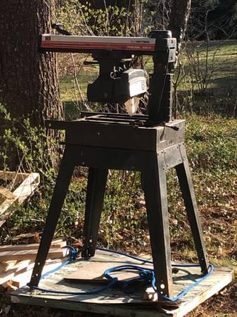 Photo Sears Craftsman 10quot radial saw - $199 (Taunton)