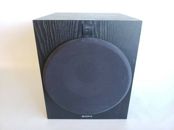 Photo Sony SA-W2500 Powered 10quot Active Subwoofer - $75 (New Bedford)