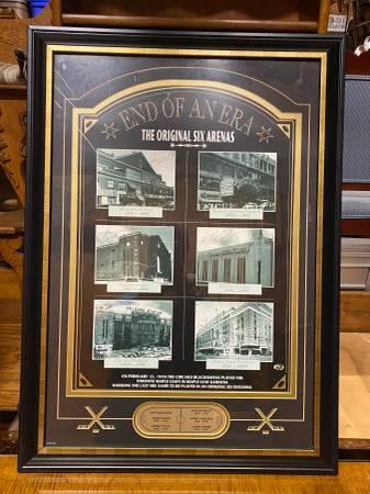 Photo Sports memorabilia picture End of an era are the original six Arenas - $225 (East wareham)