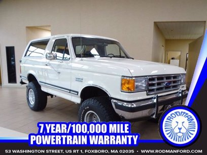 Photo Used 1988 Ford Bronco XLT for sale