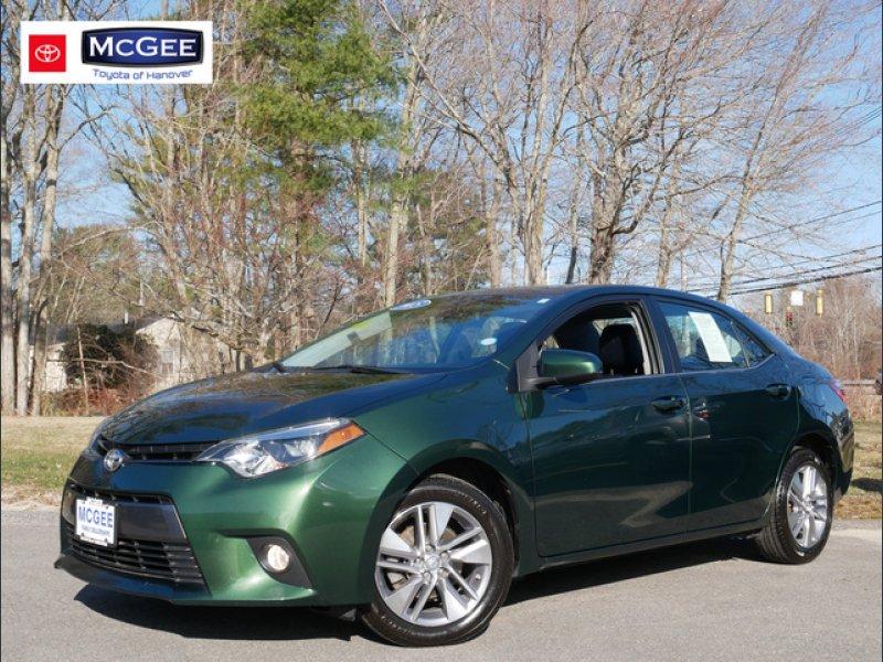 Photo Used 2015 Toyota Corolla LE Eco Premium for sale