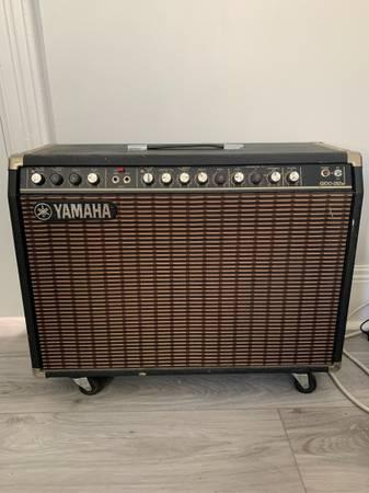 Photo Yamaha G100 212II Guitar Amp - $250 (Taunton)