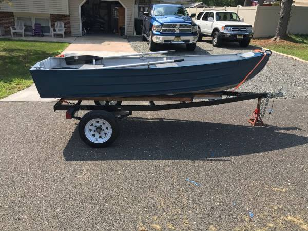 Photo 11 Foot Jon Boat and Trailer - $1,000