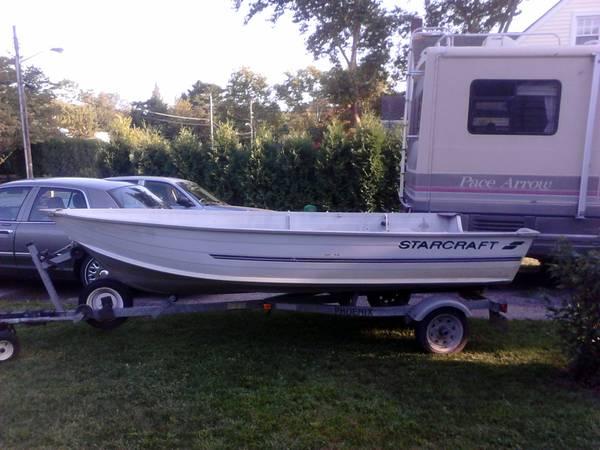 Photo 14 ft Starcraft Aluminum Boat - $1500 (Vineland)