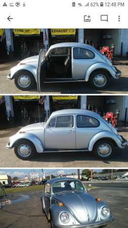 Photo 1970 Volkswagen Beetle VW Beetle Nice classic bug - $5200 (Runnemede NJ)