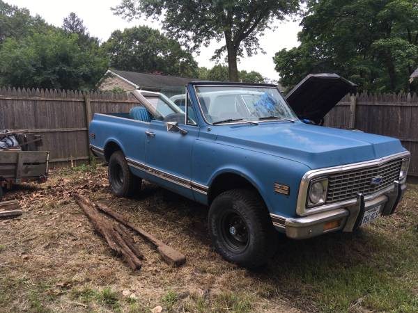 Photo 1972 Chevy Blazer 2 Wheel Drive Frame - $500 (Gibbstown)