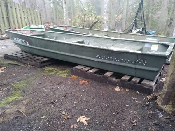 Photo 1993 ALUMACRAFT MODEL 1232 1239 aluminum jon boat - $375 (Turnersville)