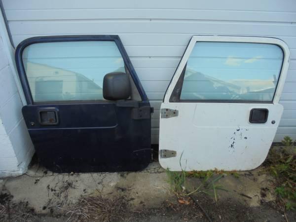 Photo 1997-2006 JEEP TJ FULL HARD DOORS - $499 (PEMBERTON NJ)