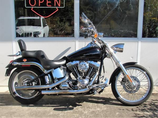 Photo 2001 Harley Davidson FXSTDI Softail Deuce (Black) - Bike Runs Good - $6,400 (Williamstown, NJ)