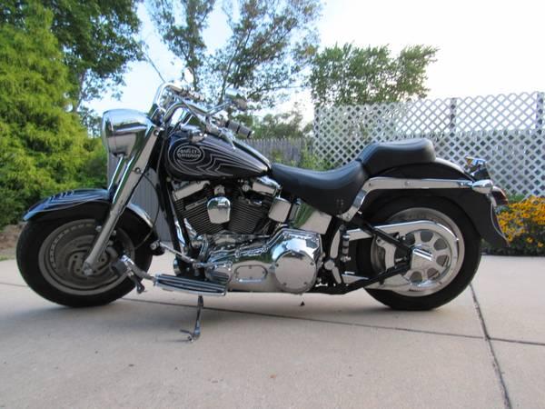 Photo 2001 Harley Davidson Fatboy Custom Paint - $5,500 (Port Republic, NJ)