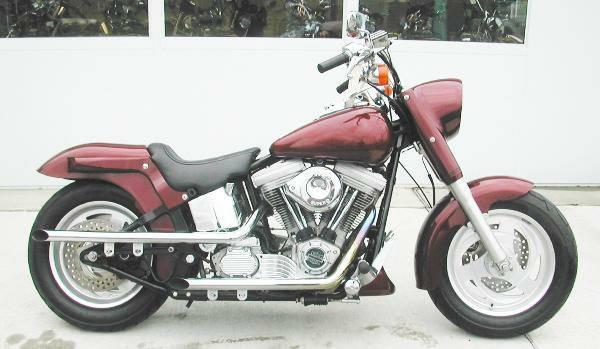 Photo 2001 Harley Davidson Stalker (Maroon) - Runs Great - $8,000 (Williamstown)
