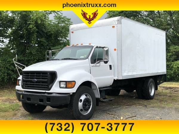 Photo 2002 Ford F-650 F650 F 650 4X2 2dr Regular Cab BOX TRUCK DIESEL - $14999 (cnj)