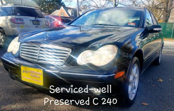 Photo 2002 Mercedes Benz C240  Low Miles  Warranty - $3299 (Burlington, NJ)