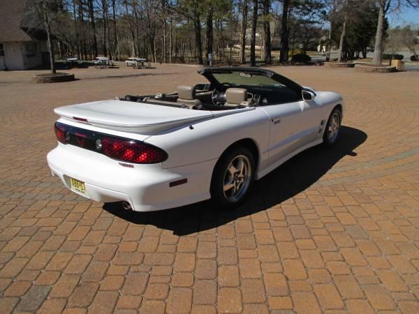 Photo 2002 Pontiac Trans Am WS6 convertible - $21,900 (Little Egg Harbor Twp)