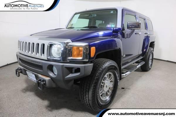 Photo 2007 HUMMER H3, Midnight Blue Metallic - $15,995 (Automotive Avenues)