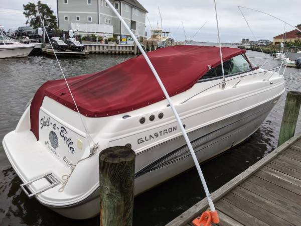 Photo 2008 Glastron GS279 Cabin Cruiser for sale- Reduced (toms river nj)