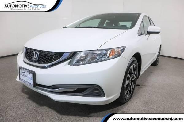 Photo 2014 Honda Civic Sedan, Taffeta White - $12,995 (Automotive Avenues)