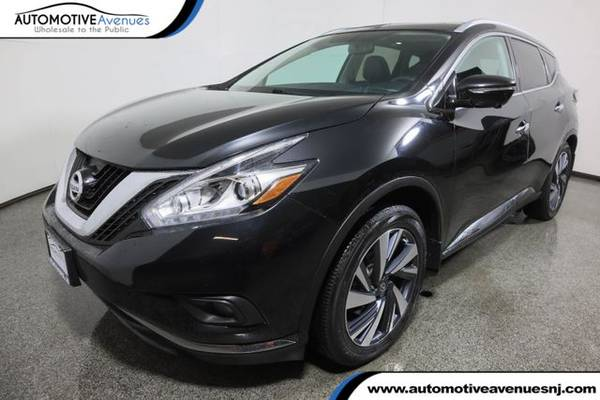 Photo 2015 Nissan Murano, Magnetic Black Metallic - $18,995 (Automotive Avenues)