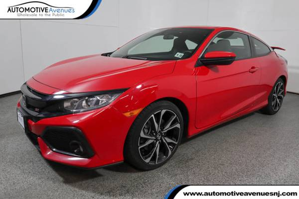 Photo 2017 Honda Civic Coupe, Rallye Red - $19995 (Automotive Avenues)